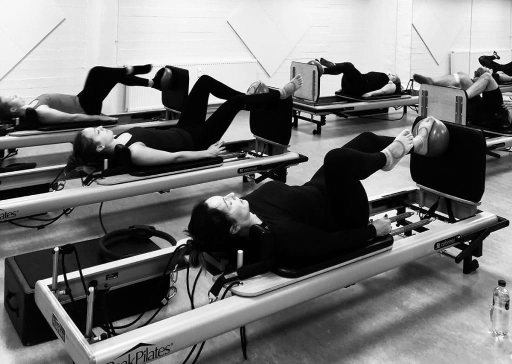 Cardio Reformer træning hos Aalboreg Pilates Studio